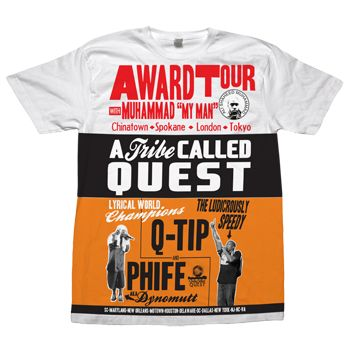 I ❤ Tribe! http://www.merchdirect.com/ATribeCalledQuest/Tshirts/Award_Tour_Poster?productid=12055