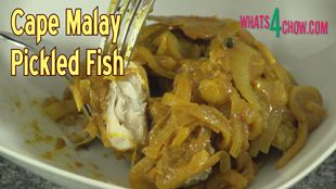 Cape Malay Pickled Fish – Traditional Cape Town Kerrievis, a Delicious Summer Meal!!!