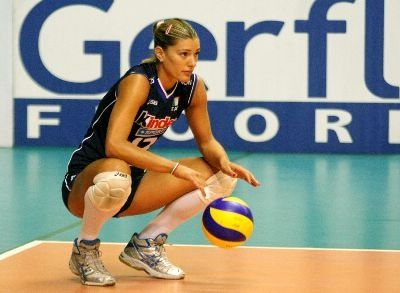 Volleyball player francesca piccinini not