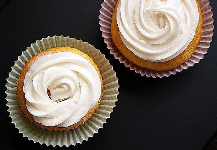 Heerlijke vetvrije vanille cupcakes!