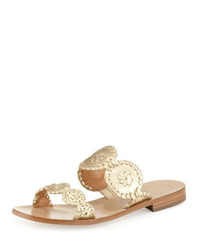 JACK ROGERS Lauren Double Strap Sandals Gold $95  (Compare Elsewhere $130) SHIPS FREE BEST PRICES YOU WILL FIND ANYWHERE ON GENUINE LADIES DESIGNER BRANDS! FREE WORLD SHIPPING & LOCAL DELIVERY AVAILABLE AT THE SURF CITY SHOP in Huntington Beach, California Major Credit Cards Accepted
