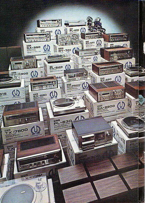 Vintage Audio Pioneer AD Hi Fi Stereo (fb)