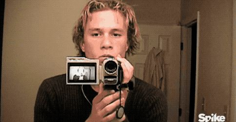 The documentary features home movies shot by the actor himself.