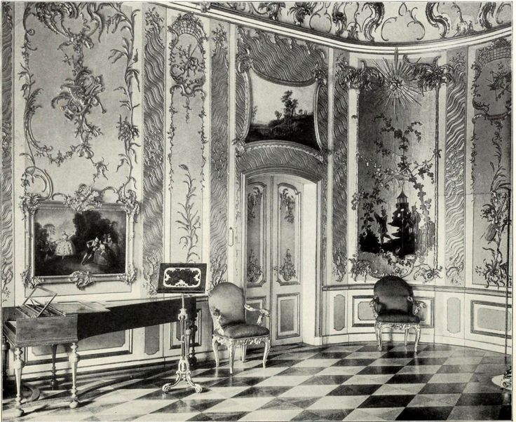The Music Room inside the Stadtschloss, Potsdam