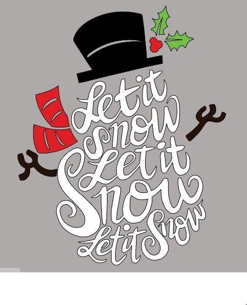 Let it Snow Snowman Shirt