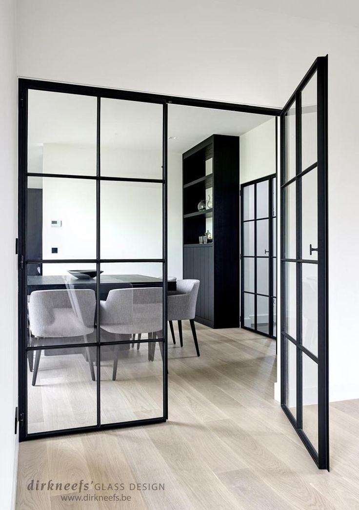 Smeedijzeren deuren | Dirk Neefs Glass design
