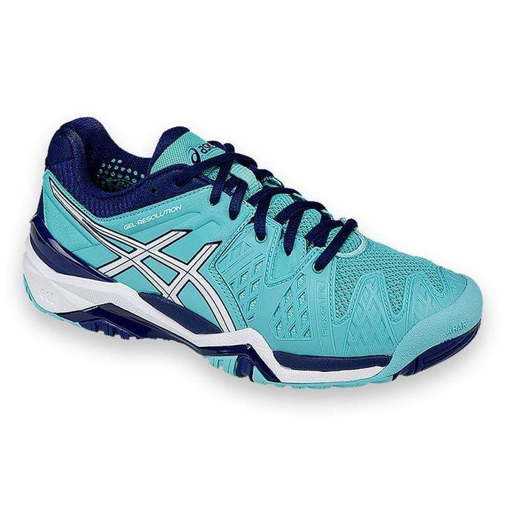 2016 Asics Gel Resolution 6 Womens Tennis Shoe