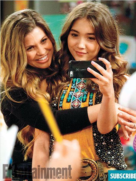 #GirlMeetsWorld - Danielle Fishel and Rowan Blanchard
