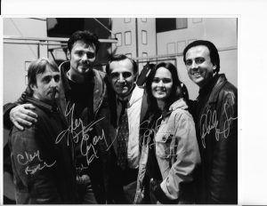 The Pawn cast and director shot LR Clay Borris, Gregg Evigan Tony Lobianco Sydney Penny