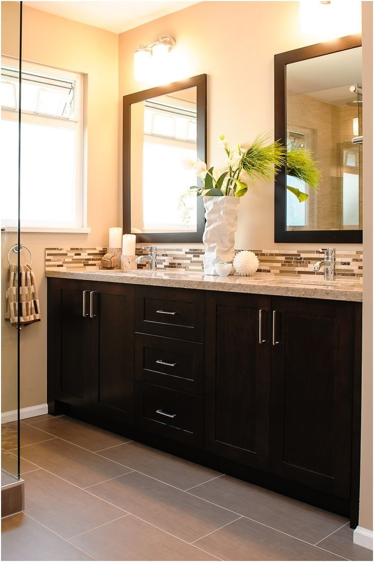 Best 25+ Dark cabinets bathroom ideas on Pinterest | Grey tile ...