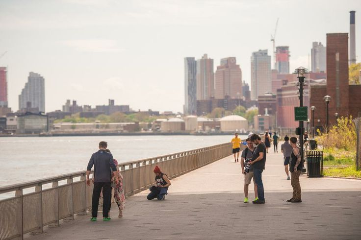 Lounge by the East River or take a jog on the running path, which ends on the Lower East Side.