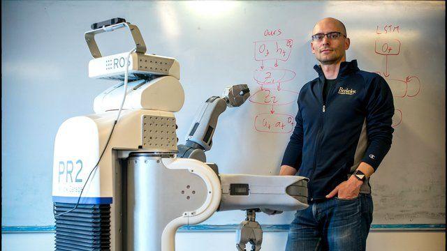 Pieter Abbeel, de man die robots laat denken | Machine