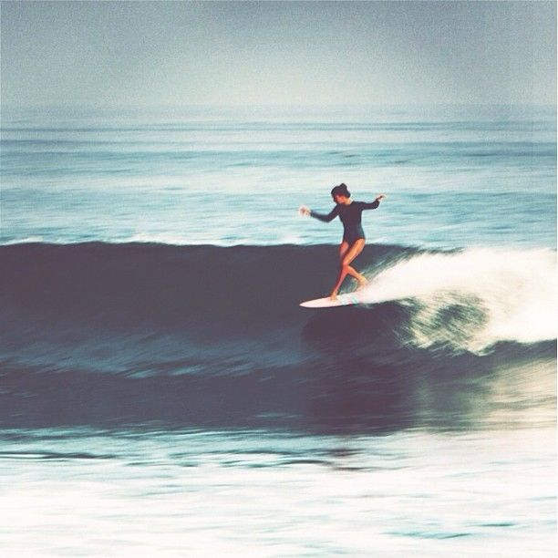 @Lola Mignot in her home break with style.