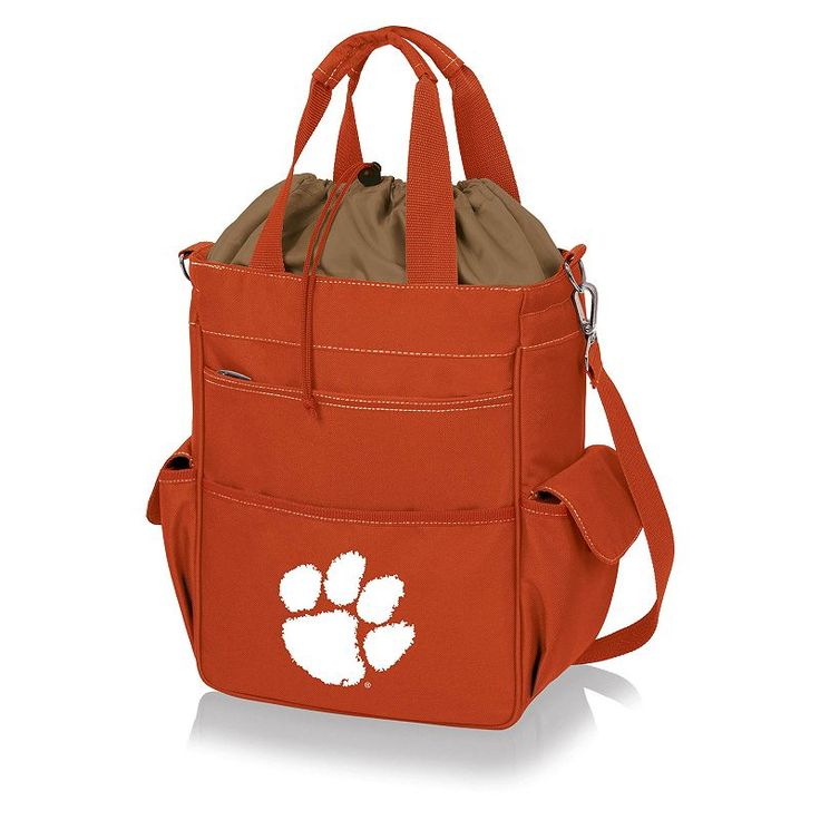 Clemson Tigers Insulated Lunch Cooler, Orange