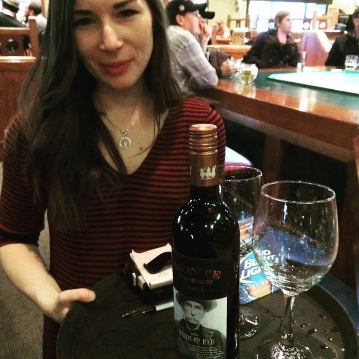 Kaitlan knows how to promote local wines like this @monte