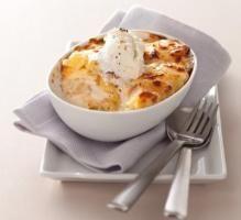 Recette - Gratin de pomme de terre à la dauphinoise au fromage à la Crème Elle & Vire, Ail et Fines herbes - Proposée par 750 grammes