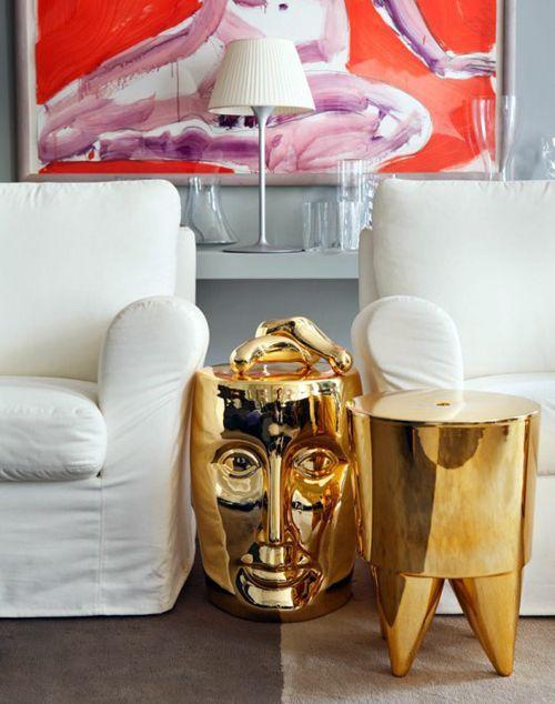 Philippe Starck stool Stone & Living - Immobilier de prestige - Résidentiel…
