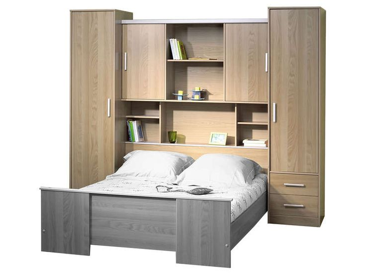 compos de 4 portes 2 tiroirs et 7 niches vous pourrez cr er votre dressing en toute. Black Bedroom Furniture Sets. Home Design Ideas