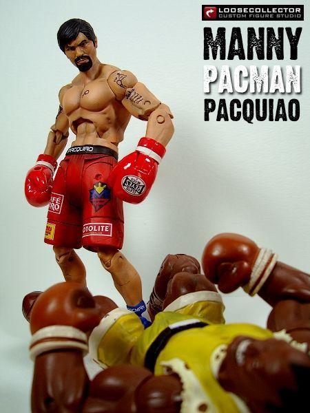 Manny PACMAN Pacquiao Custom Action Figure