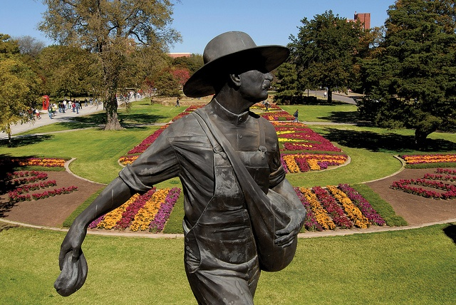 Image result for the sower statue oklahoma