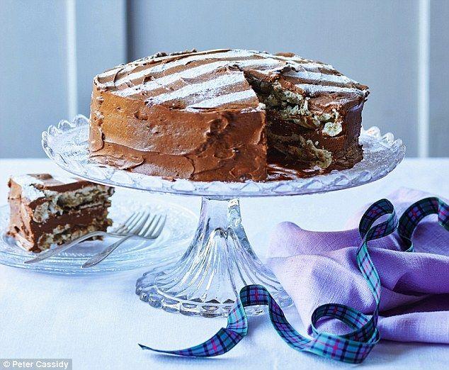 Claire Macdonald Chocolate Fudge Cake Recipe