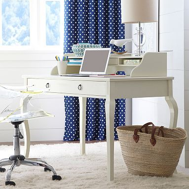 With my desk and lounge area I would need a few Vera things to complete the lookQuincy Desk + Hutch #pbteen#MySuiteSetupSweepstakes
