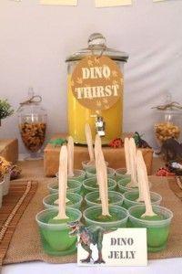 melhores ideias de festa de dinossauro