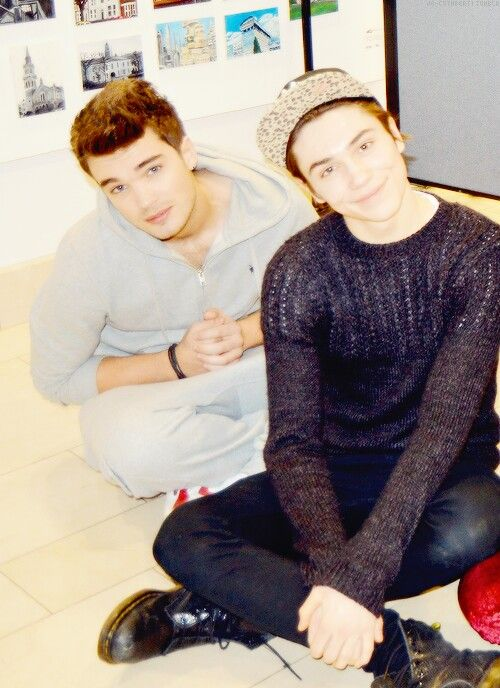 Josh Cuthbert and George Shelley // Union J