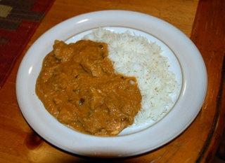Курица в ореховом соусе по-индийски, она же Chicken in Cashew Nut Sauce