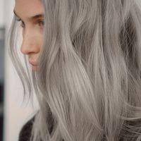 Пепельные оттенки волос фото