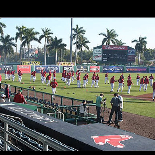 Yes please! Bosox Spring Training 2012 here I come! <3