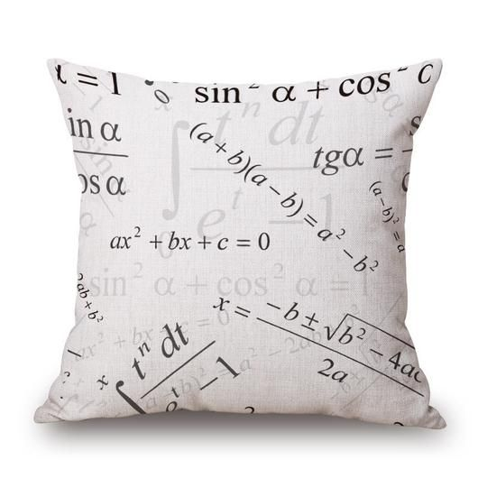 """Beautiful hand made cushion cover crafted in the highest quality linen and cotton. Material: Linen / Cotton Pattern:Printed Shape: Square Size: 45cmX45cm(18""""X18"""") Technique: Knitted Care Instruction:"""