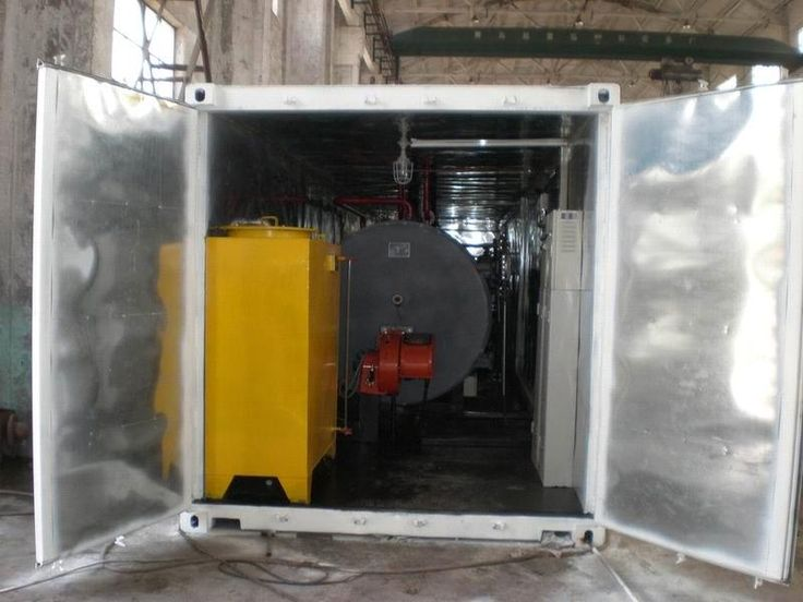 Transportable Container - Oil Boiler (WNS0.5`3-1.25Y(Q)) - China removable oil and gas boiler, KINGLLI