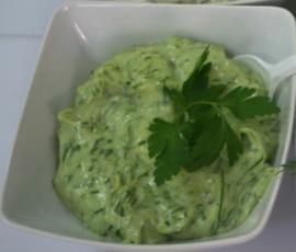 Przepis Sos majonezowy zielony przez ElaK - Widok przepisu Sosy/Dipy/Pasty