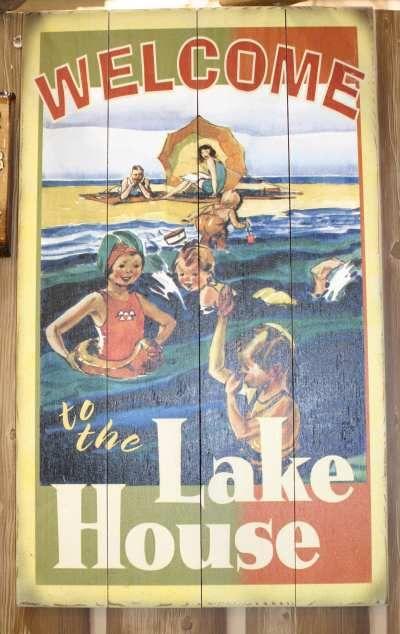 lakehouse decor | ... , cottage furniture, cabin decor, cottage decor