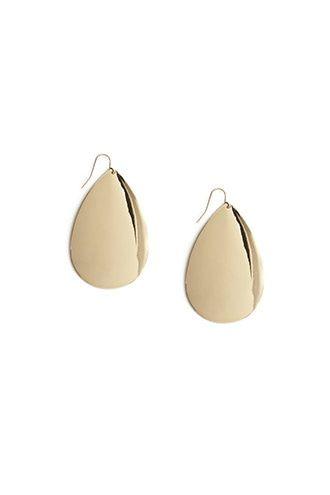 Tear-Shaped Drop Earrings
