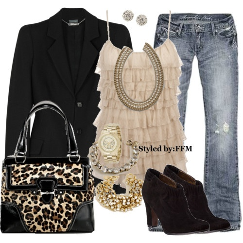 Every outfit looks good with a black blazer!
