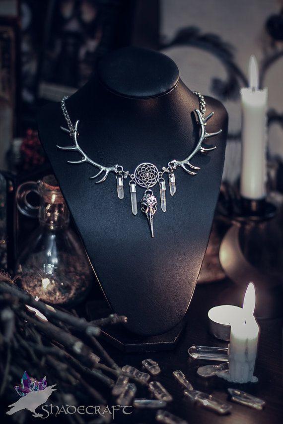 Shadow Craft Necklace https://www.etsy.com/shop/shadecraft