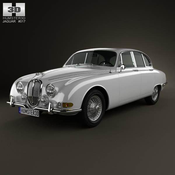 Jaguar S Type 1963 3d Car Model From Humster3d.com. Price: $75