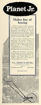 1925 ad s. l. allen #planet jr. gardening wheel hoe tool #farming #cultivating hg,  View more on the LINK: http://www.zeppy.io/product/gb/2/371589218608/
