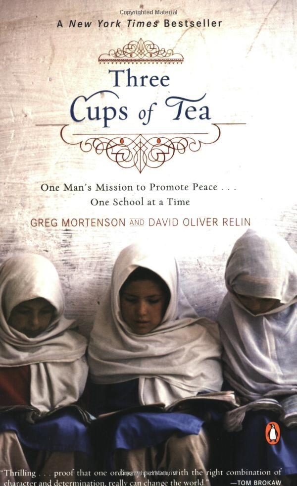 Three Cups Of Tea: Greg Mortenson, David Oliver Relin: Books