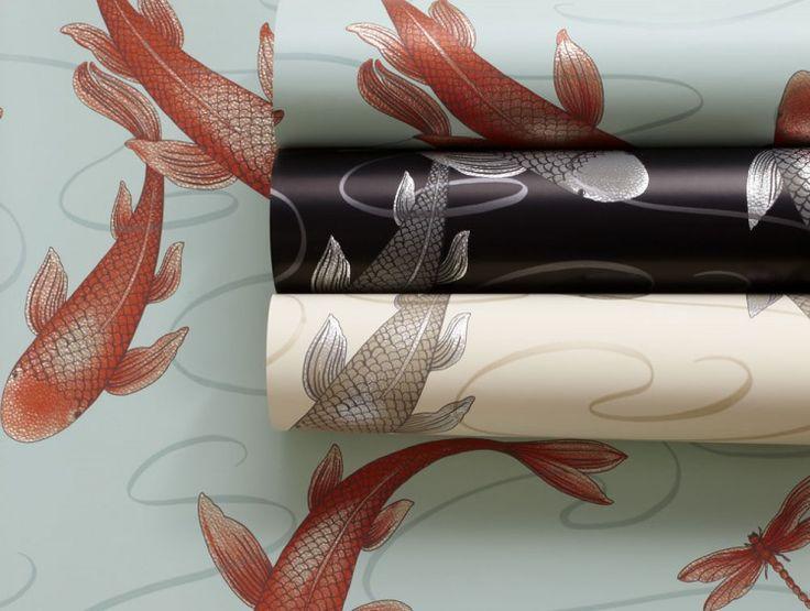 Koromo Clearwater Designer Wallpaper