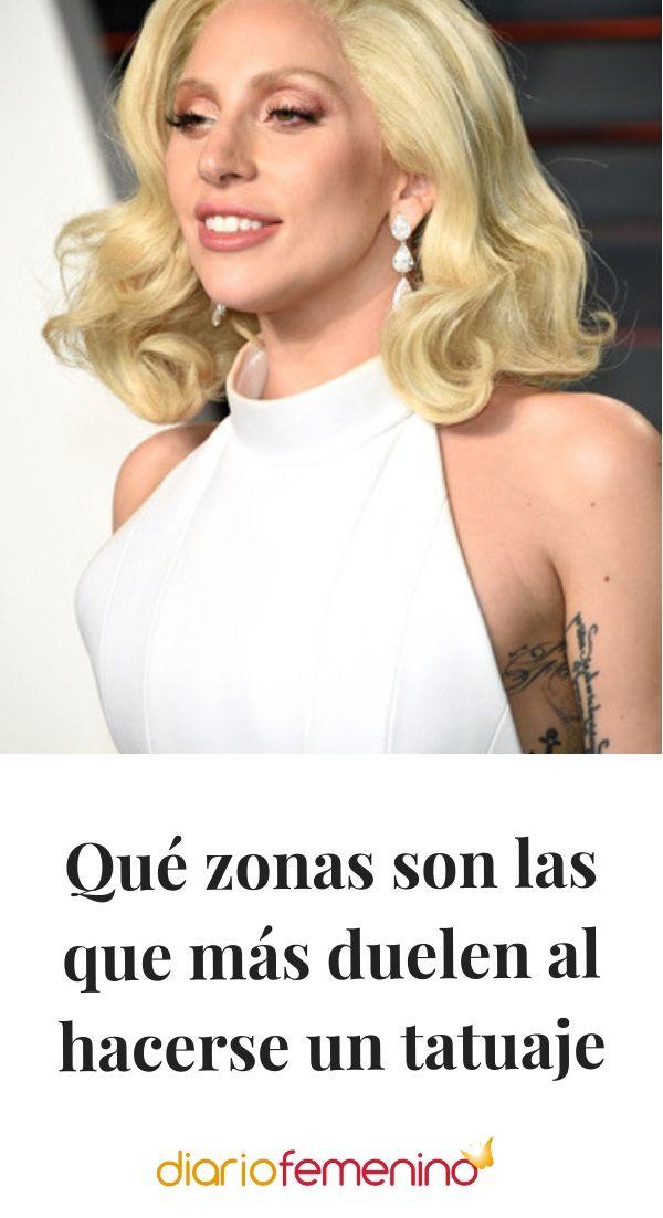 Qué Zonas Son Las Que Más Duelen Al Hacerse Un Tatuaje Mujeres