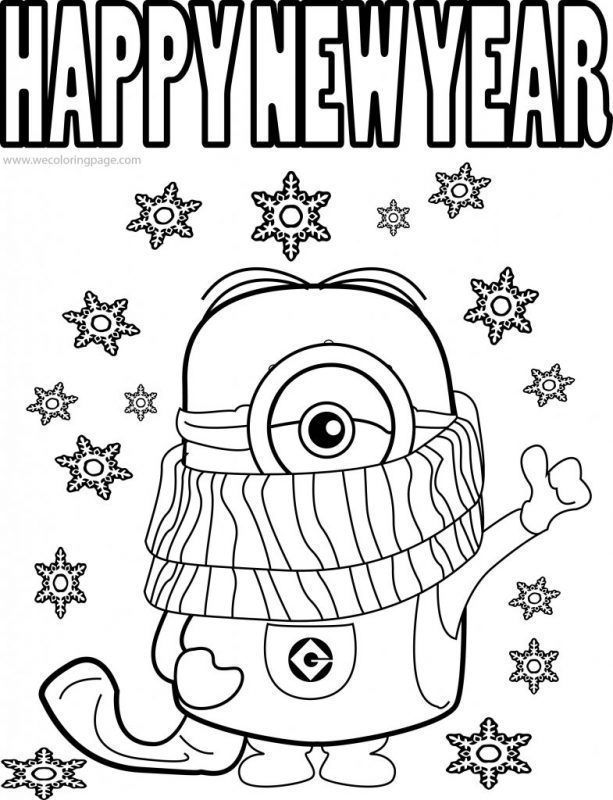 Happy New Year Coloring Page New Year Coloring Pages Rudolph Coloring Pages New Year S Eve Colors