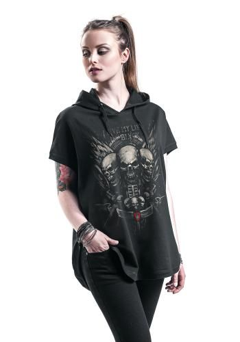 Screaming Skulls - T-Shirt - Black Premium by EMP