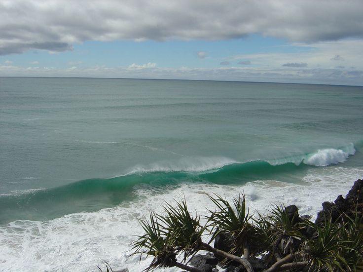 Surf, Point Danger, Coolangatta, Gold Coast, Australia