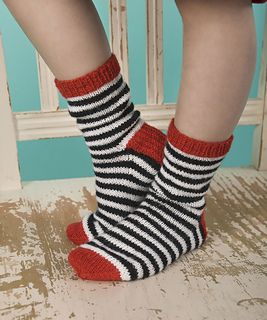 Kids will love having this fun pair of socks to keep their feet warm while outside or while playing inside on cold winter days.