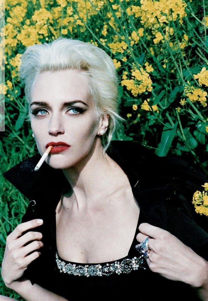 Hannelore Knuts for Vogue Italia (November 2005 Issue) photoshoot by Ellen von Unwerth