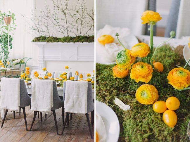 Lemon Citrus Bridal Shower