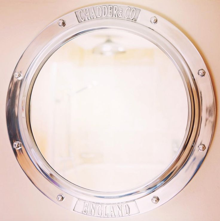 chadder porthole mirror get the nautical look in your bathroom or bedroom this